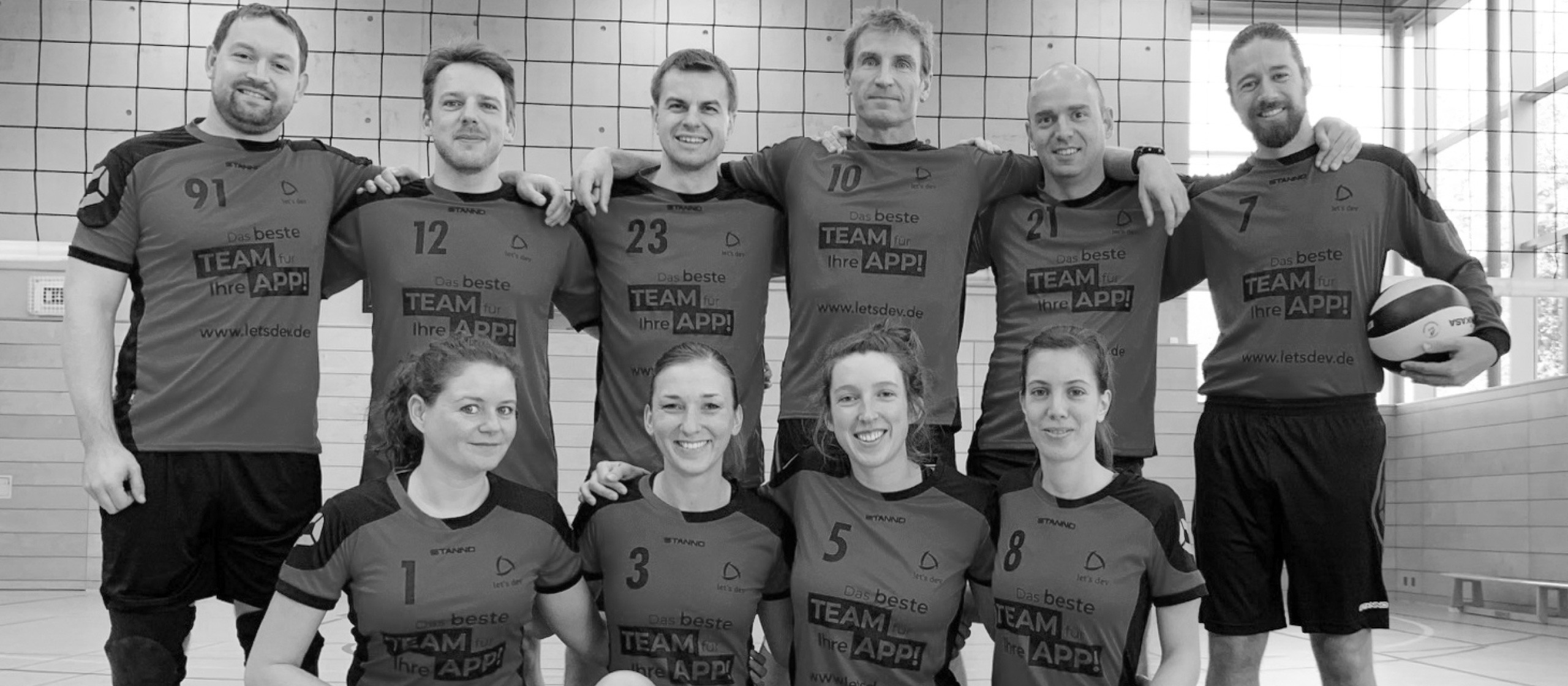 let's dev Blog | let's dev supports SG Siemens volleyball players from Karlsruhe