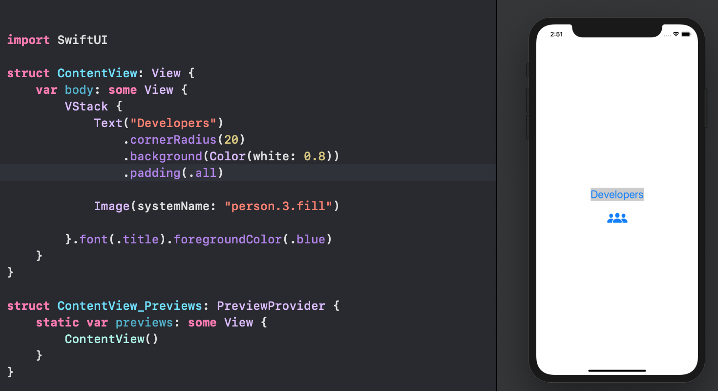 SwiftUI first elements wrong cascade
