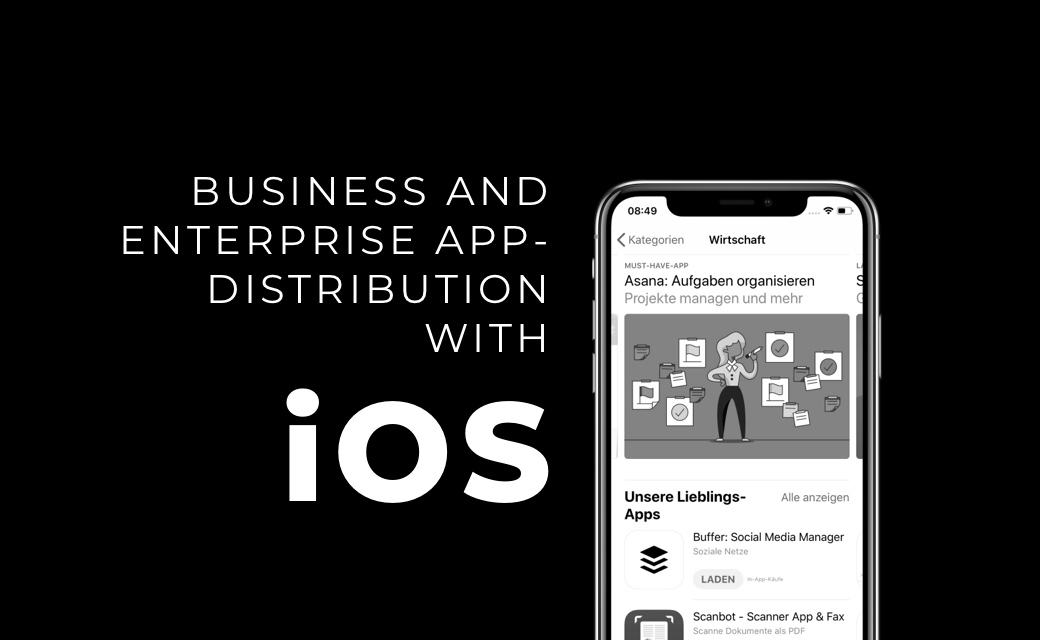 let's dev Blog | Business and Enterprise App Distribution on iOS