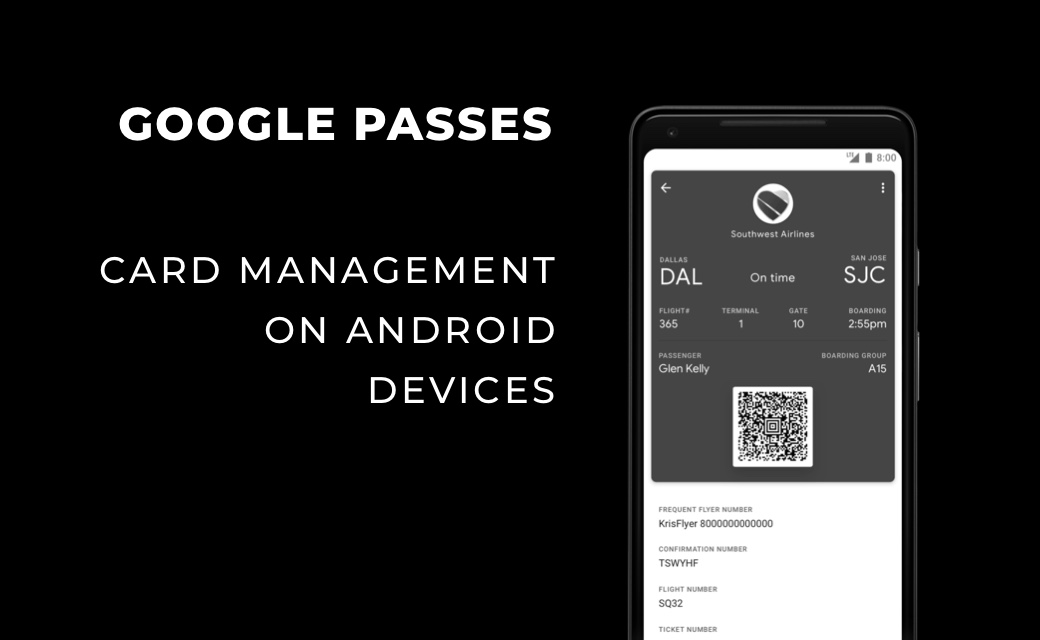 let's dev Blog | Google Passes - Card Management on Android Devices